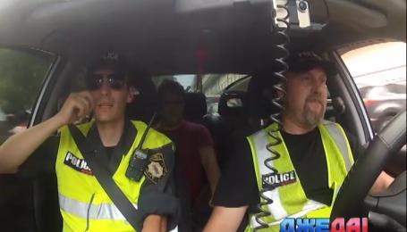 В столице появилась народная полиция