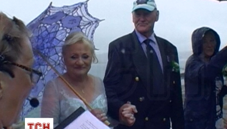 У Норвегії 79-річний наречений приплив на весілля