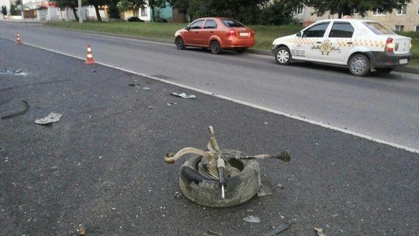 На Львівщині п'яного винуватця ДТП прикували кайданками до паркану