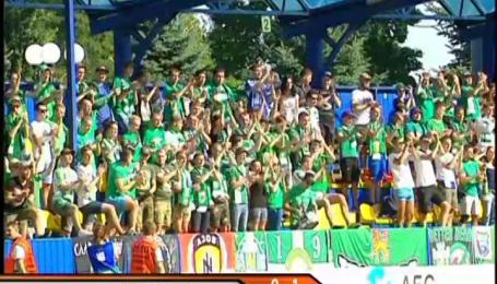 Олимпик - Карпаты - 0:1. Видео матча