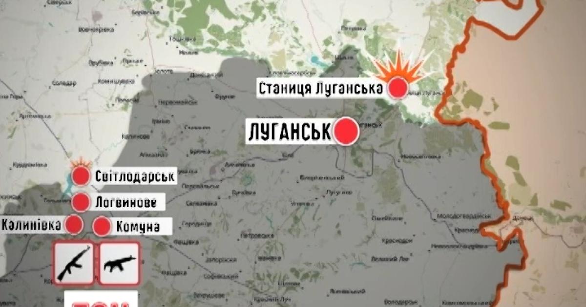 Несмотря на встречу в Минске, боевики обстреливают украинцев из запрещенного оружия. Дайджест АТО