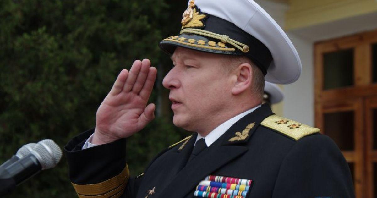 Военная прокуратура объявила о подозрении в государственной измене экс-заместителю командующего ВМС Елисееву