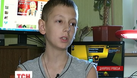 Третій рік поспіль бореться за життя 12 річний Олег Рожко з Дніпродзержинська