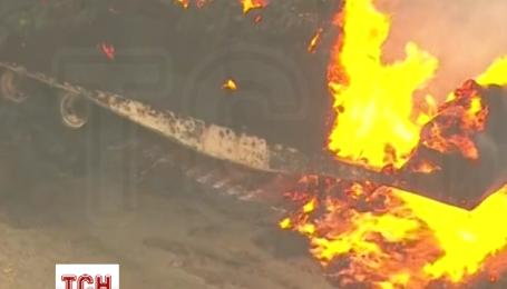 Ситуация с лесными пожарами в Калифорнии остается крайне сложной