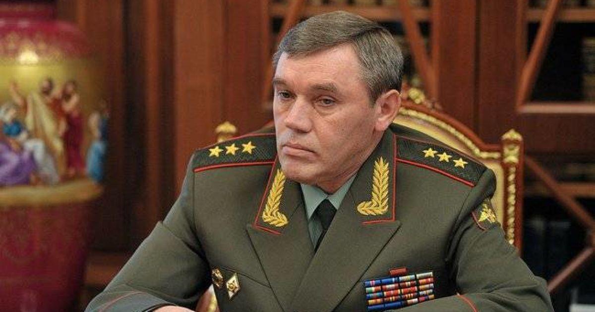 Начальника Генштаба ВС России вызвали на допрос в военную прокуратуру Украины