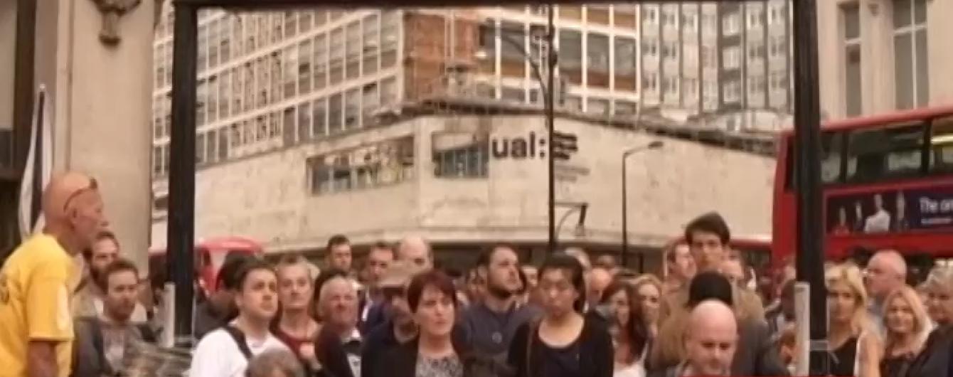 В 9-миллионном Лондоне остановилось метро