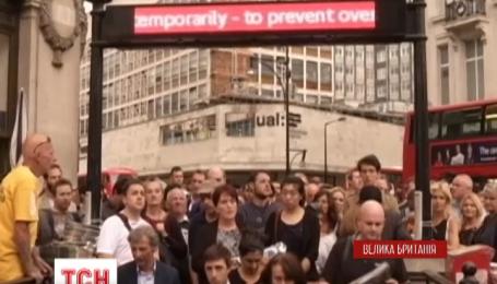 Лондон парализован из-за забастовки работников метро