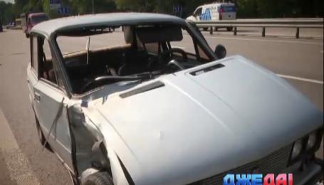 На Житомирской трассе произошла авария