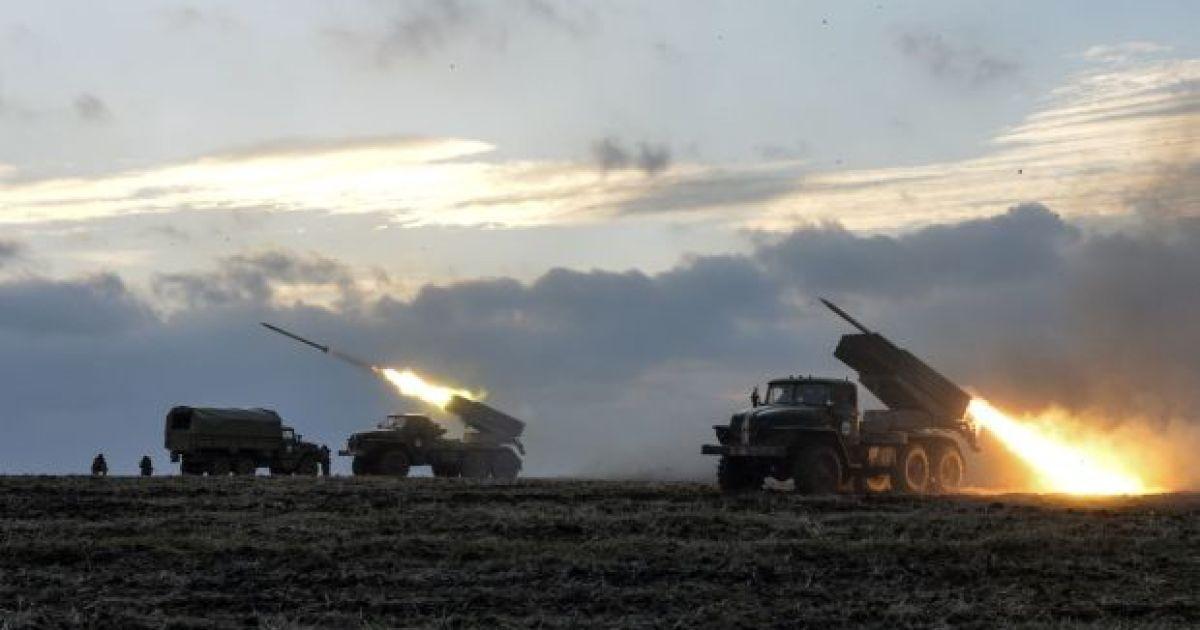 Боевики впервые за полмесяца применили реактивную артиллерию