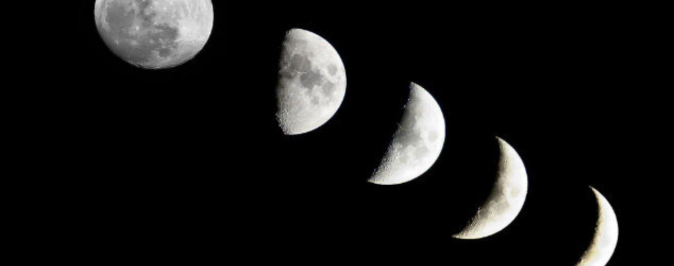 Чого не слід робити на спадний Місяць