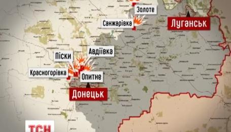 В штабе АТО сообщают об обострении ситуации на востоке страны