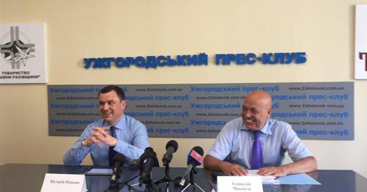 Москаль возглавит список правящей партии на выборах в Закарпатский облсовет