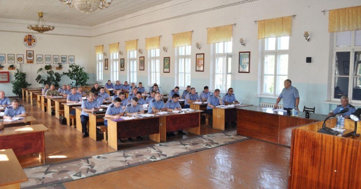 Нового руководителя представили личному составу @ Министерство обороны Украины