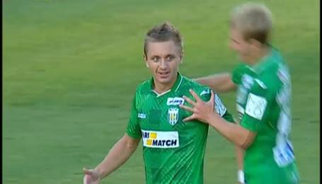Карпати - Чорноморець - 2:0. Відео голу Голодюка