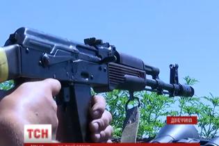 """Позиції 28-ї бригади в Мар'їнці мають цікаві """"ноу-хау"""""""