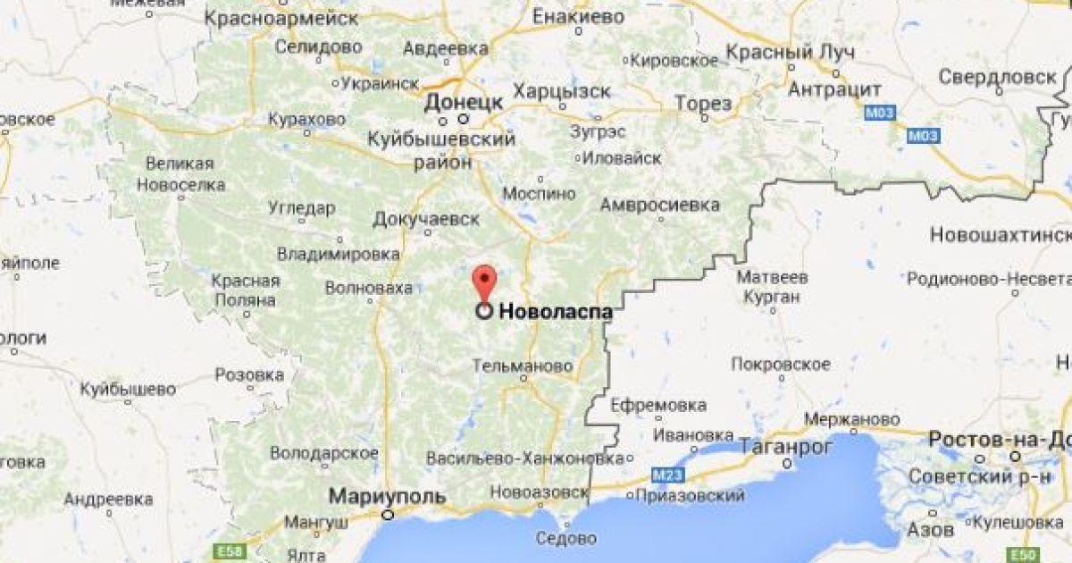 Сили АТО вибили бойовиків із Новоласпи - журналіст