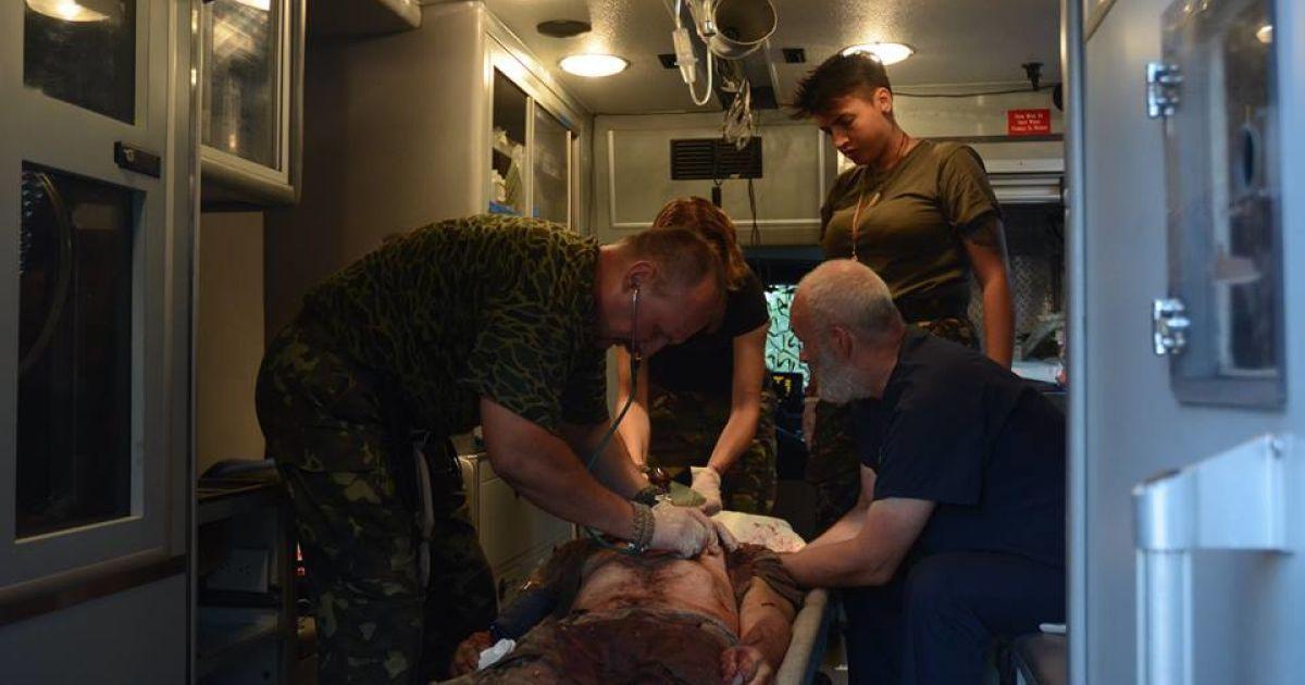 Погибли семеро бойцов, 11 - ранены @ facebook.com/Яна Зинкевич