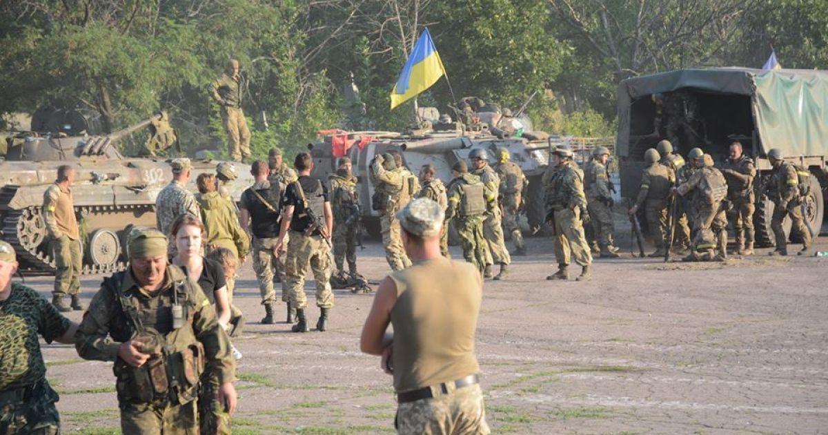 Боевики начали массированный обстрел позиций 72-й бригады ВСУ