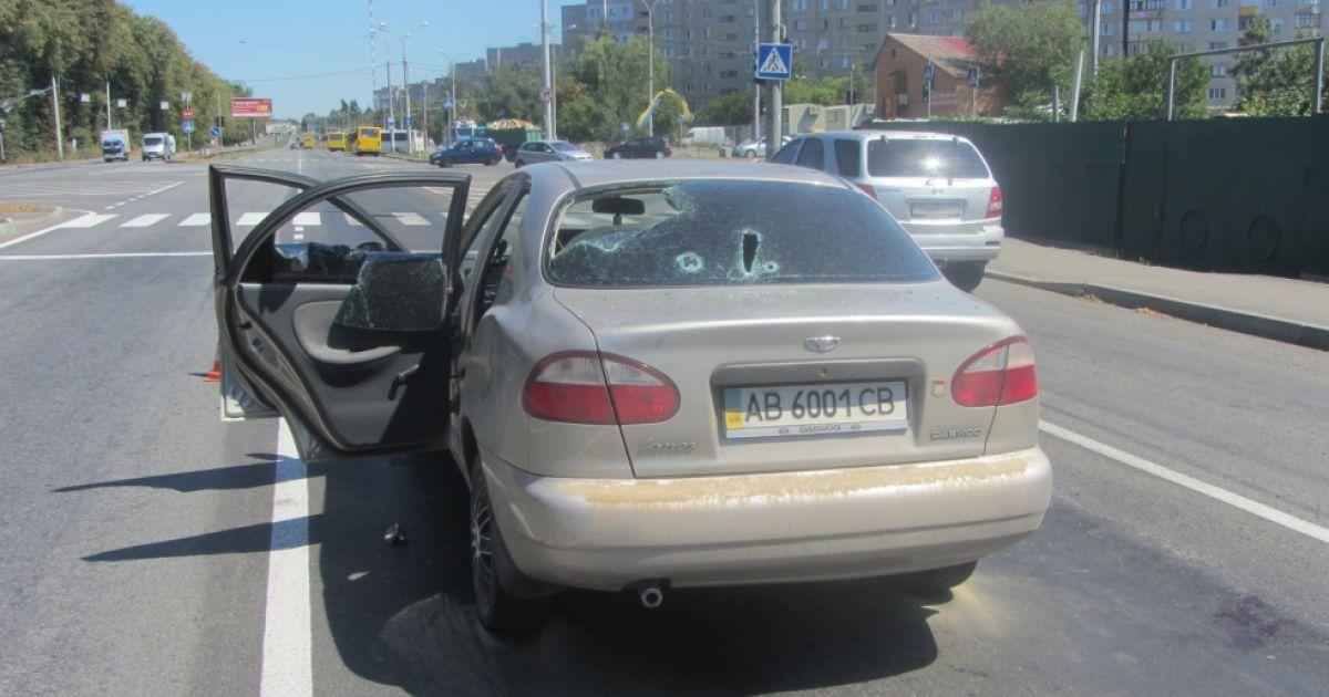 В Виннице расстреляли Daewoo Lanos @ 20minut.ua