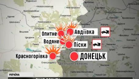 Боевики из «Градов» обстреливают Зайцево