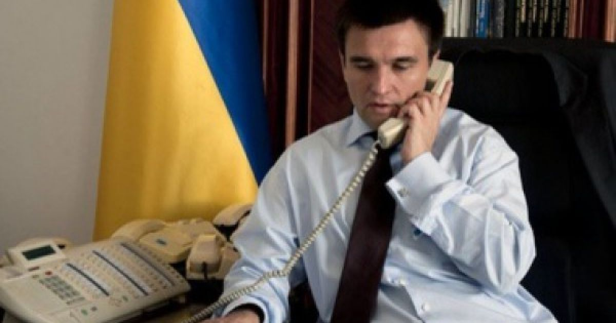 Климкин предупредил Лаврова, что боевики сознательно пытаются сорвать перемирие на Донбассе