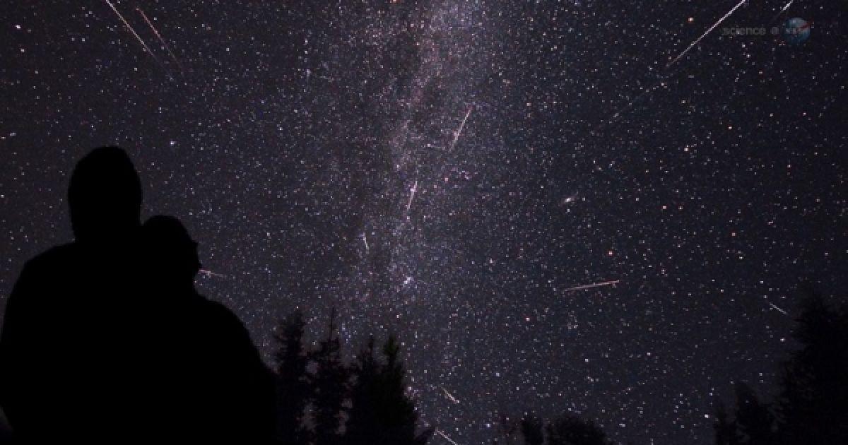 Метеорный дождь Персеиды 2015. Онлайн-трансляция NASA