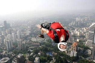 Отечественные бейсджамперы мечтают о легализации своих прыжков, которые бы прославили Украину