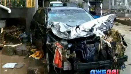 Китай оправляется от мощного тайфуна «Соуделор»