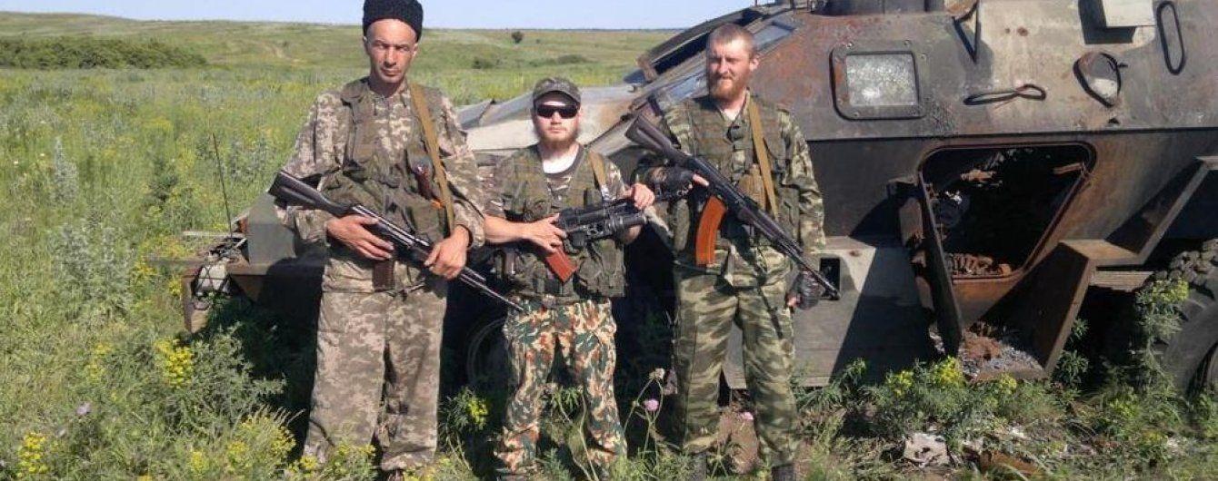 Військові відігнали бойовиків від Новотроїцького та підбили ворожу БМП