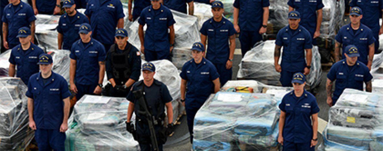Берегова охорона США перехопила рекордну партію кокаїну на суму понад мільярд доларів