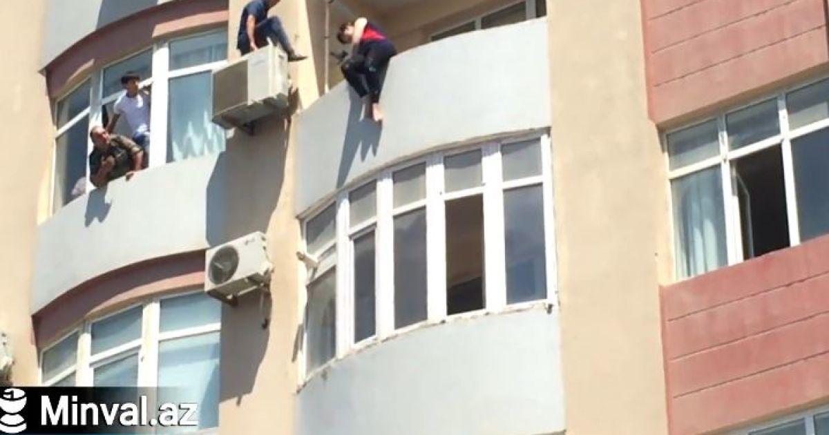 В Сети показали видео невероятного спасения самоубийцы за секунды до прыжка