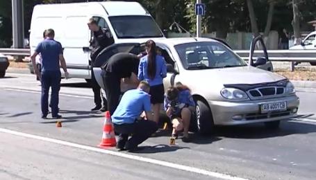 Правоохоронці затримали трьох учасників учорашньої стрілянини у середмісті Вінниці