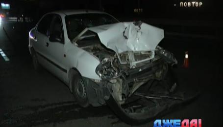 Авария на столичном Дарницком мосту произошла из-за отсутствия освещения