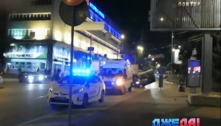 Младенец стал участником аварии в Киеве