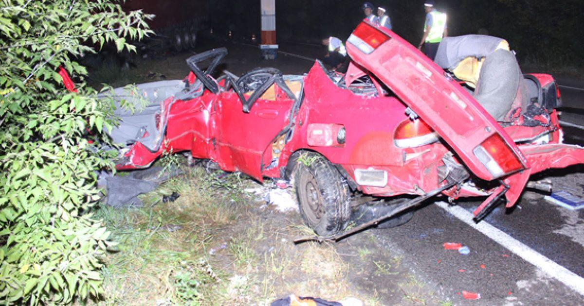 Жертвами аварії стали троє людей @ Прес-служба МВС у Рівненській області
