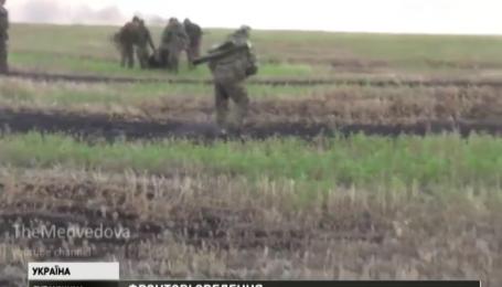 Боевики не уменьшают количество и интенсивность атак на позиции украинских сил