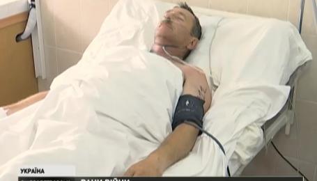 12 тяжелораненых бойцов доставили в Днепропетровскую областную больницу с передовой