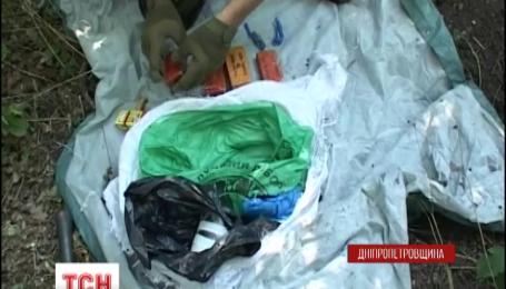 На Дніпропетровщині СБУ виявили схованку зі зброєю та вибухівкою