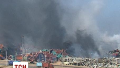 Более 500 человек пострадали в результате взрыва на складе в Китае
