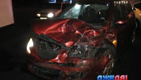 Водитель под мухой стал причиной аварии в столице