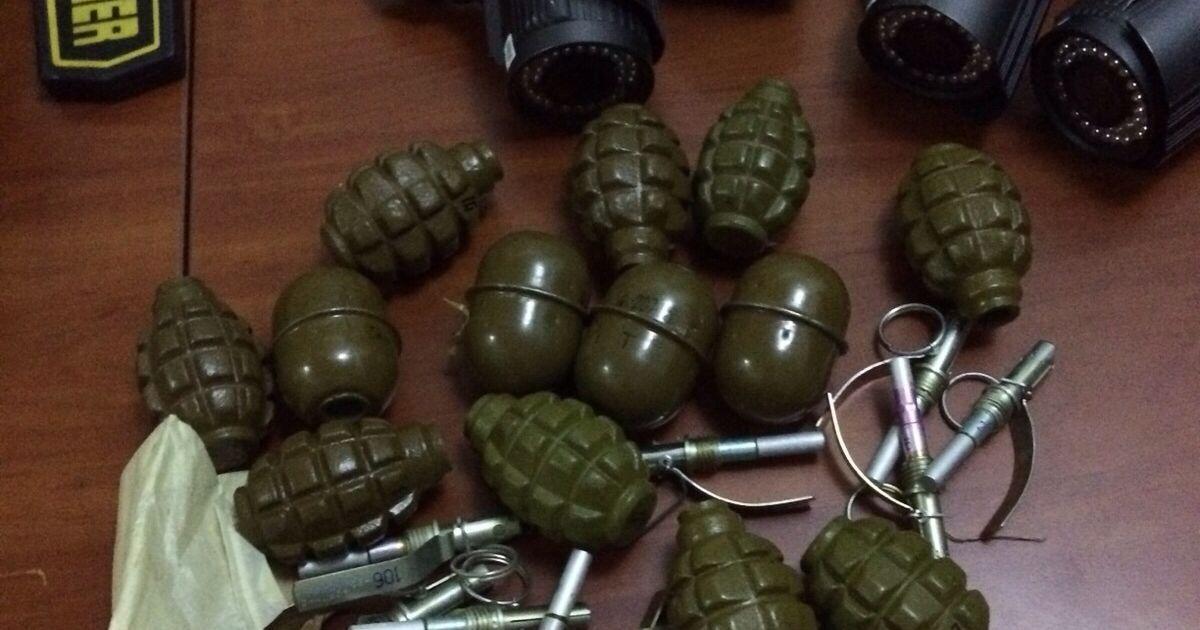У центрі Києва знайшли арсенал зброї @ Прокуратура Київської області