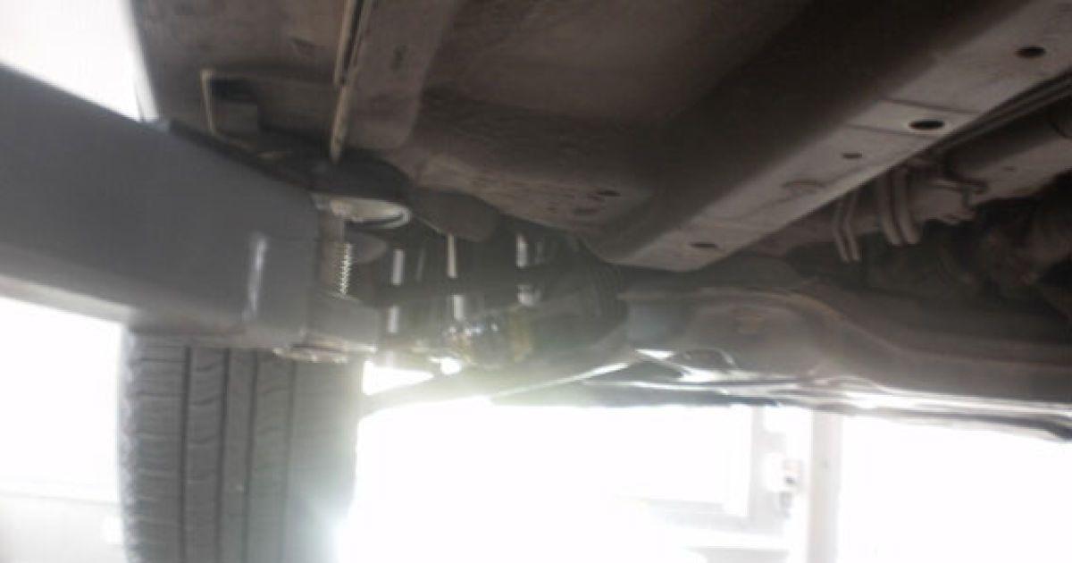 В Полтаве на дно автомобиля Hyundai прикрепили гранату @ Пресс-служба МВД Украины