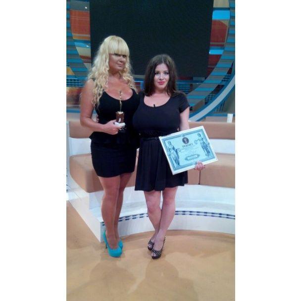 Вінничанка з грудьми 11-го розміру потрапила до Книги рекордів України