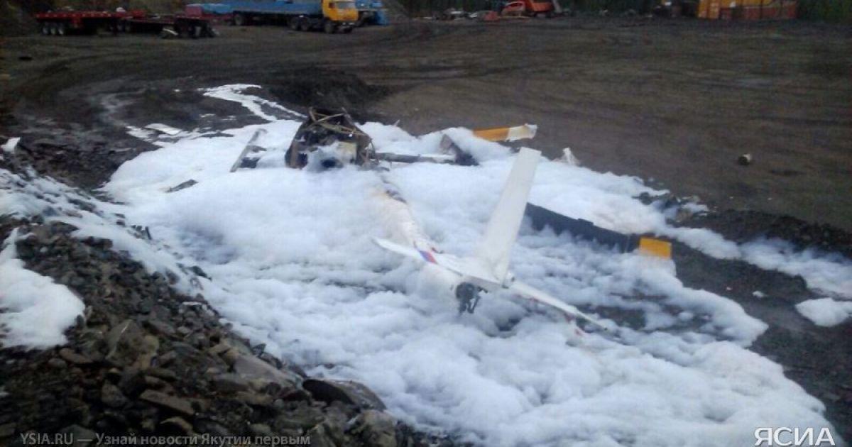 В России вертолет зацепился за столб и завалился на землю: есть пострадавшие