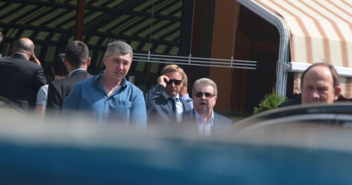 На похороны Еремеева прибыли ряд скандальных политиков. Михаил Поплавский @ ТСН.ua