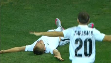 Чорноморець - Зоря - 0:1. Відео голу Петряка