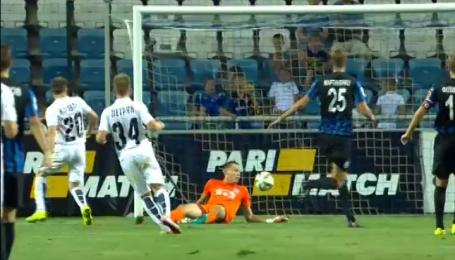 Чорноморець - Зоря - 0:2. Відео голів