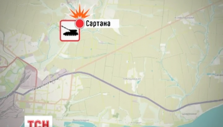 Бойовики вночі обстріляли села поблизу Маріуполя