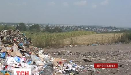 Мешканці села Залужжя вимагають перенести подалі від їхніх осель стихійне звалище