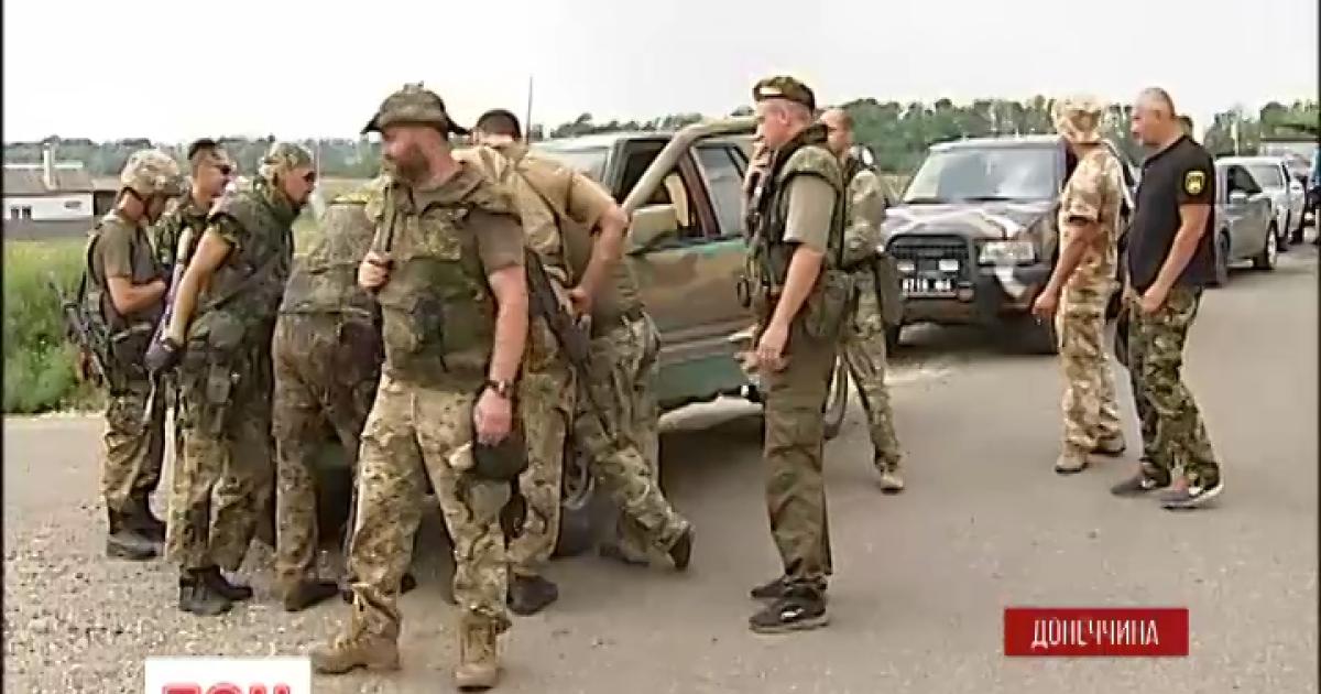 """Бойцы """"Донбасса"""" возвращаются к боевым заданиям под Мариуполем"""